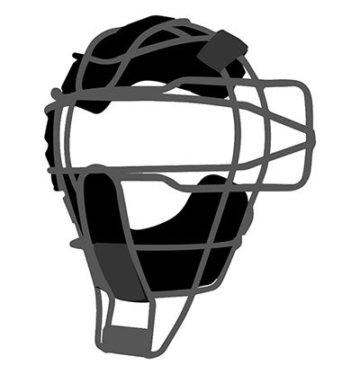 Traditional Catcher's Mask