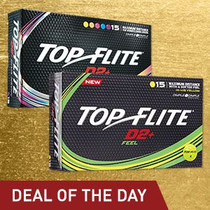 3 for $25Select Top Flite D2+ Golf Balls