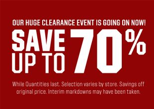 Select Clearance Gear - In-store & Online