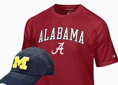 BOGO 50% Off Select NCAA Tees & Hats
