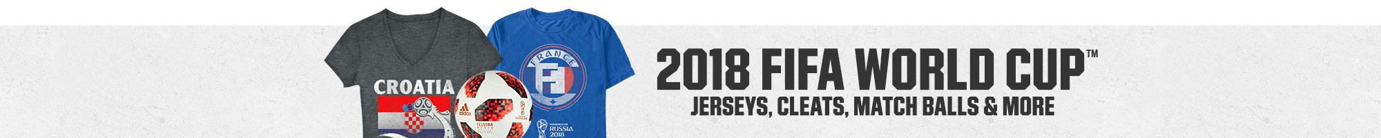 2018 FIFA World Cup | Jerseys, Cleats, Match Balls & More