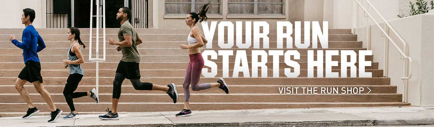 Your Run Starts Here - Visit The Run Shop