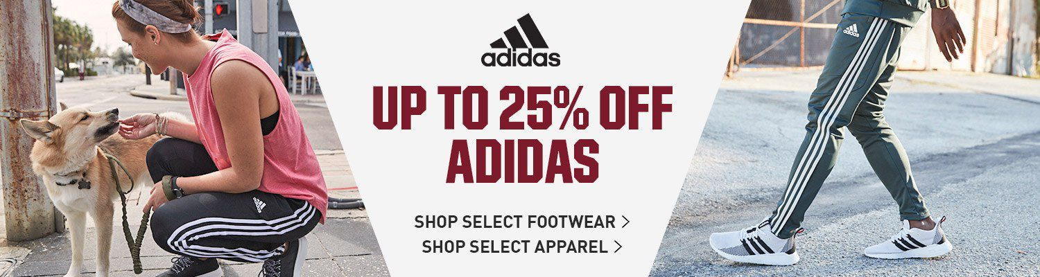 Up to 25% Off adidas