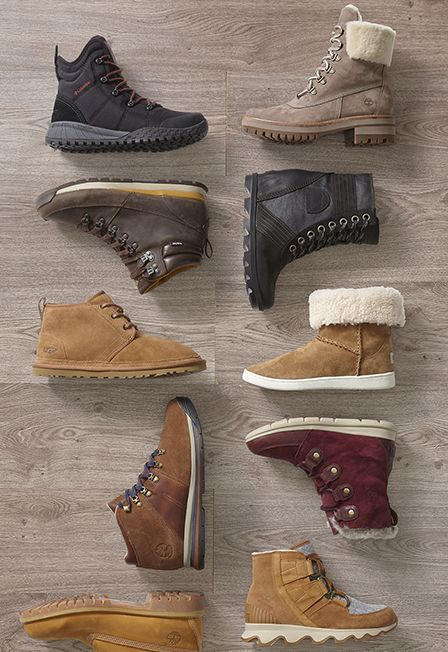 Winter Boots for the Family - SOREL, The North Face & More