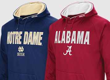 $24.98 - Select NCAA Fleece, Polos & 1/4 Zips