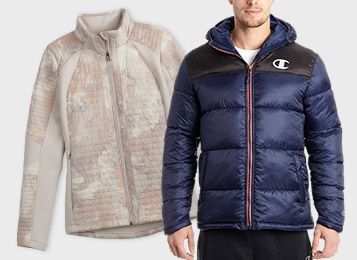 Up to 50% Off - Select Outerwear