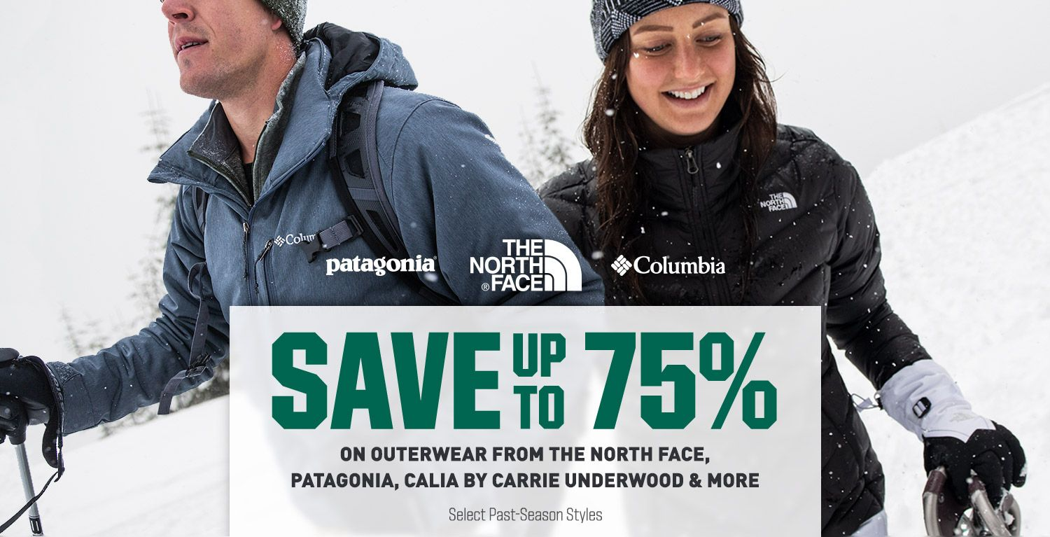 Up To 75% Off - On Outerwear From The North Face, Patagonia, CALIA & More