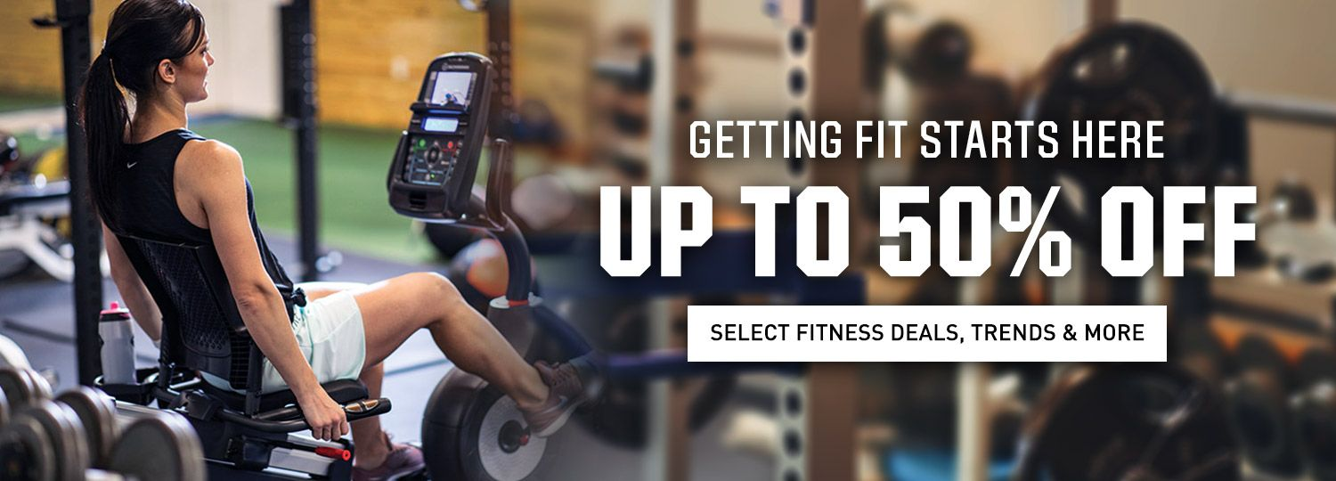 Getting Fit Starts Here - Up to 50% Off Select Fitness Deals, Trends & More