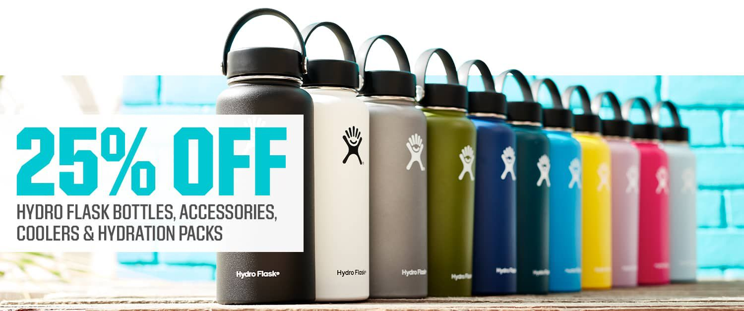 25% Off Hydro Flask Bottles