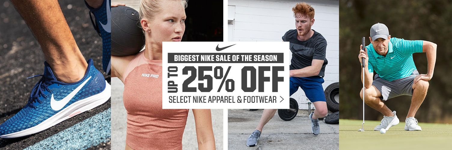 Biggest Nike Sale Of The Season - Up To 25% Off