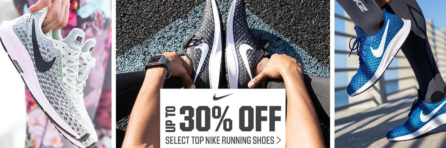 Up to 30% Off Select Top Nike Running Shoes