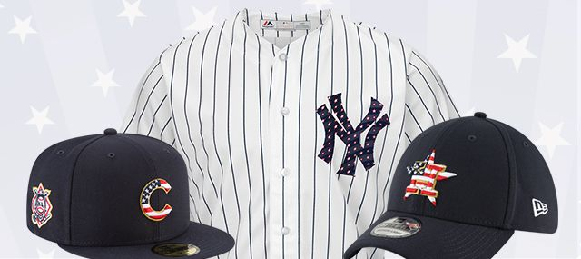 MLB Stars & Stripes | Red, White & Blue Gear