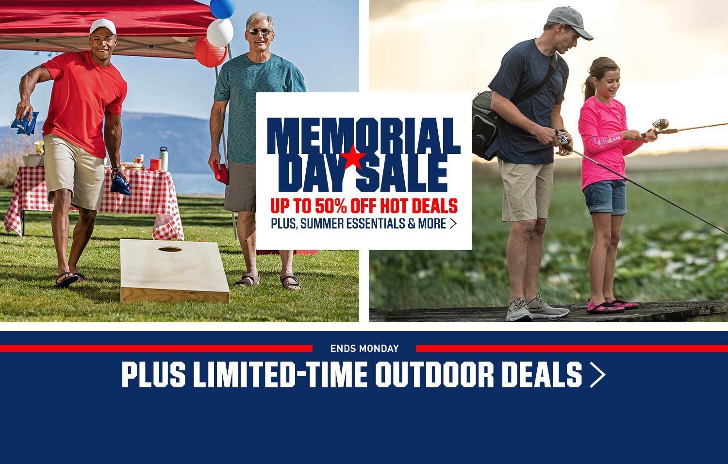 Memorial Day Sale | Up To 50% Off Hot Deals