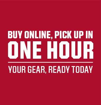Buy Online, Pick Up In One Hour Your Gear, Ready Today