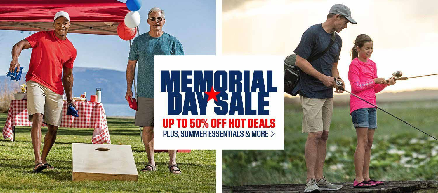 Memorial Day Sale - Up TO 50% Off Hot Deals