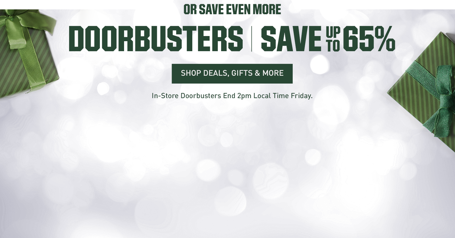Or Save Even More - Doorbusters | Save Up to 65%