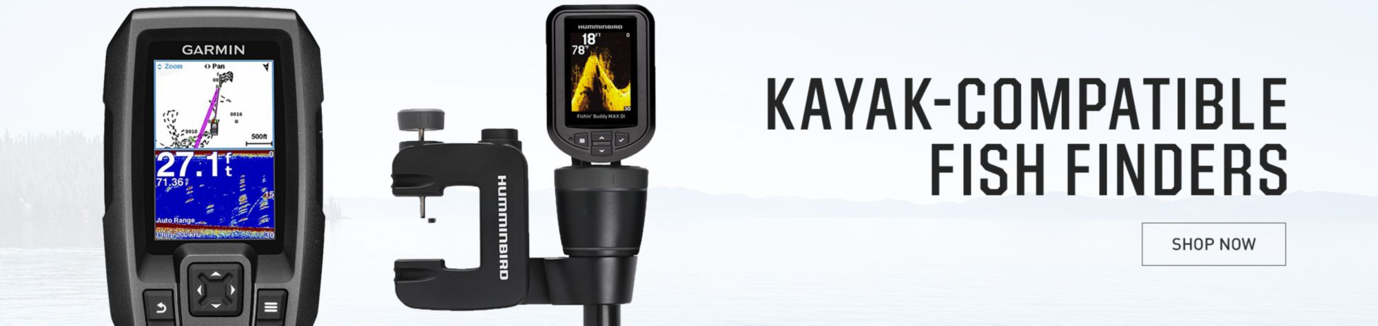 Kayak-Compatible Fish Finders