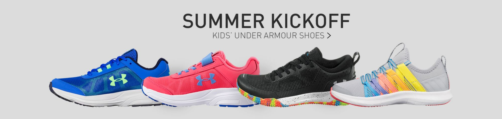 Youth Under Armour Footwear