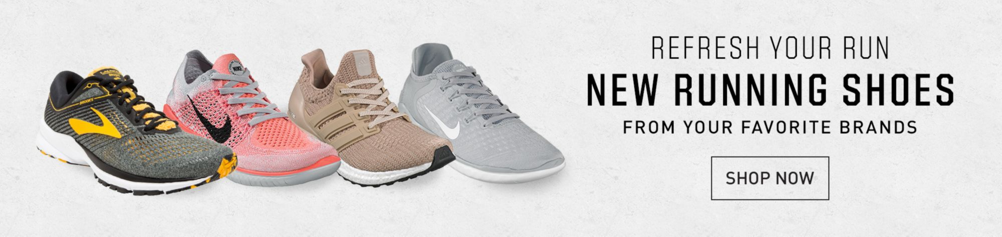 Shop New Running Footwear
