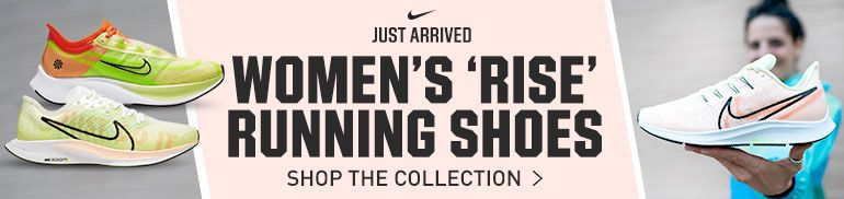 Nike Logo      Built For Your Favorite Players on the Pitch      Women's Nike 'Just Do It' Running Shoes      Shop The Collection