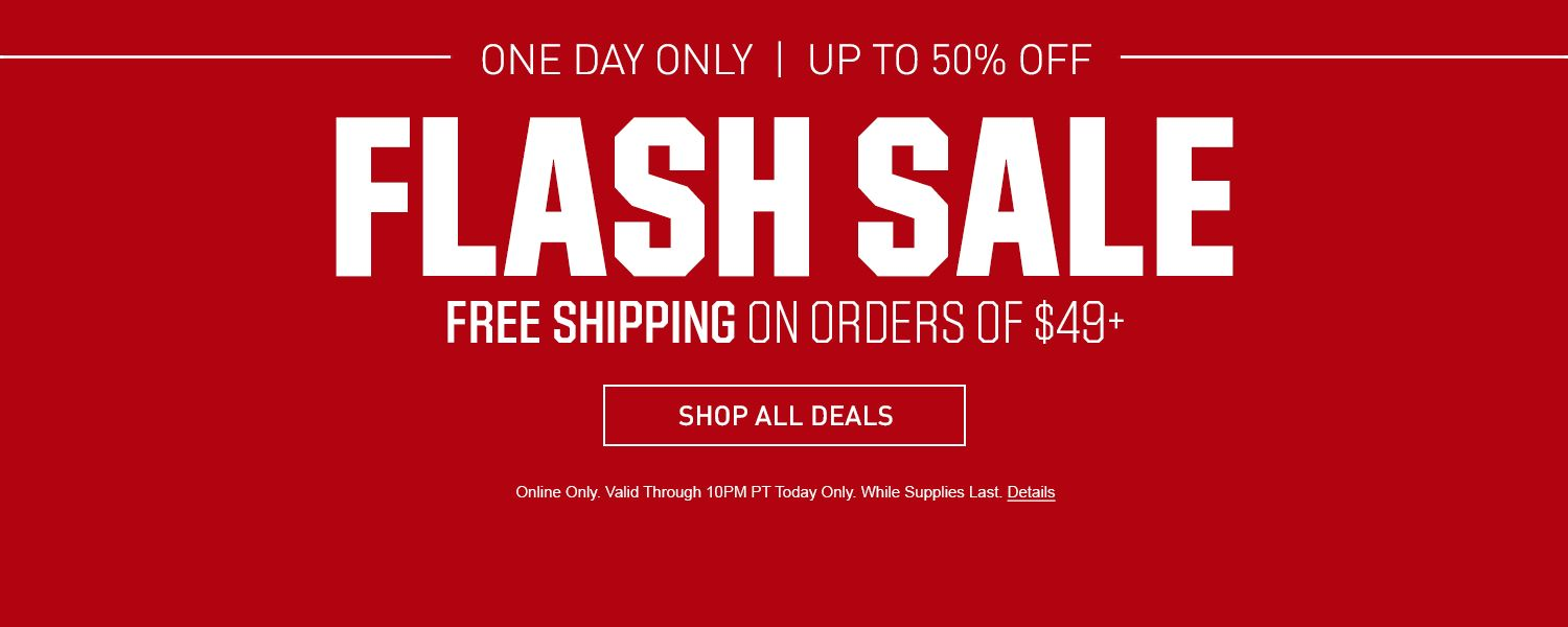 One Day Only - Up to 50% Off - Flash Sale