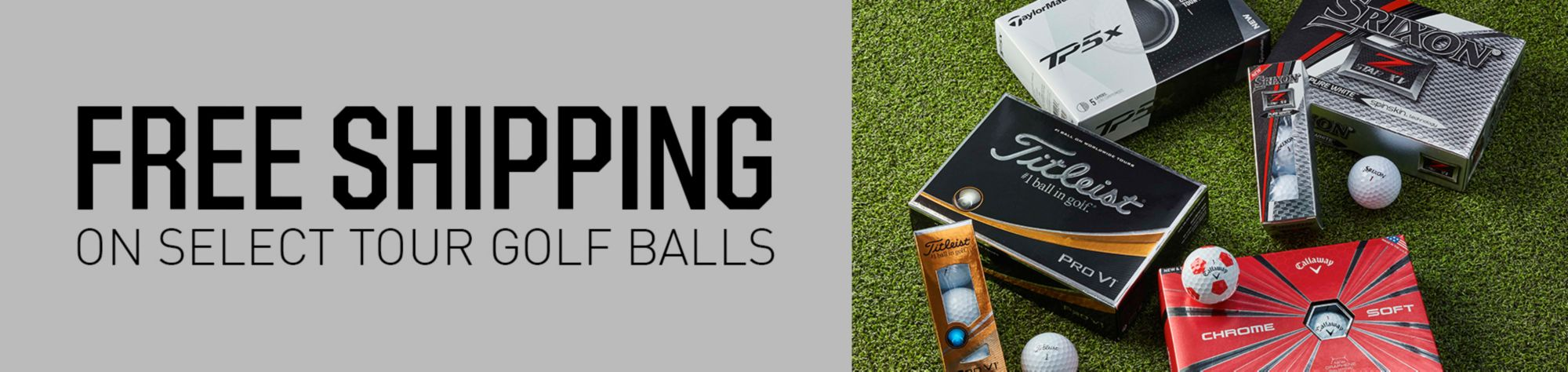 Free Shipping On Select Tour Golf Balls