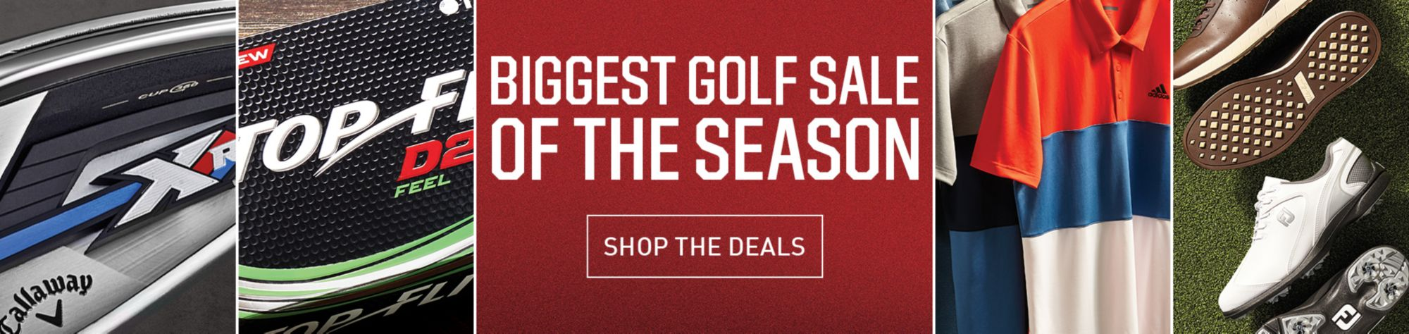 Biggest Golf Sale Of The Season - Shop Deals