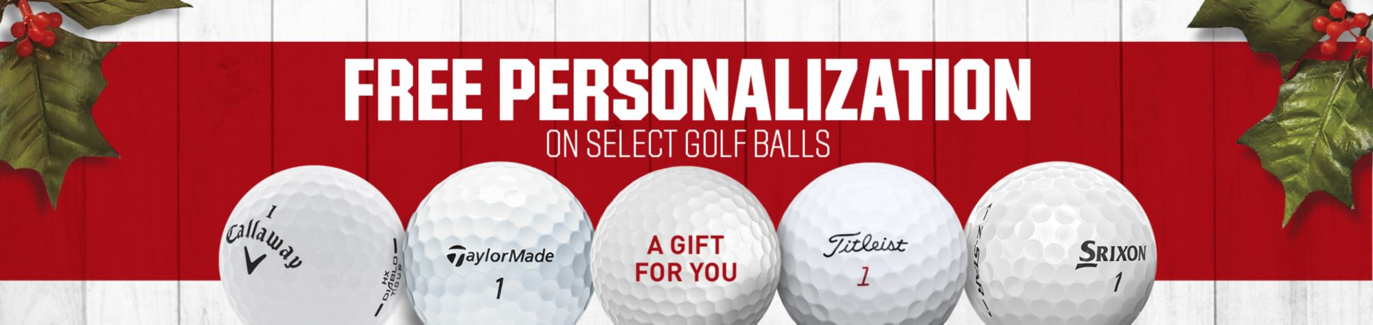 Free Personalization Select Golf Balls - Shop Now