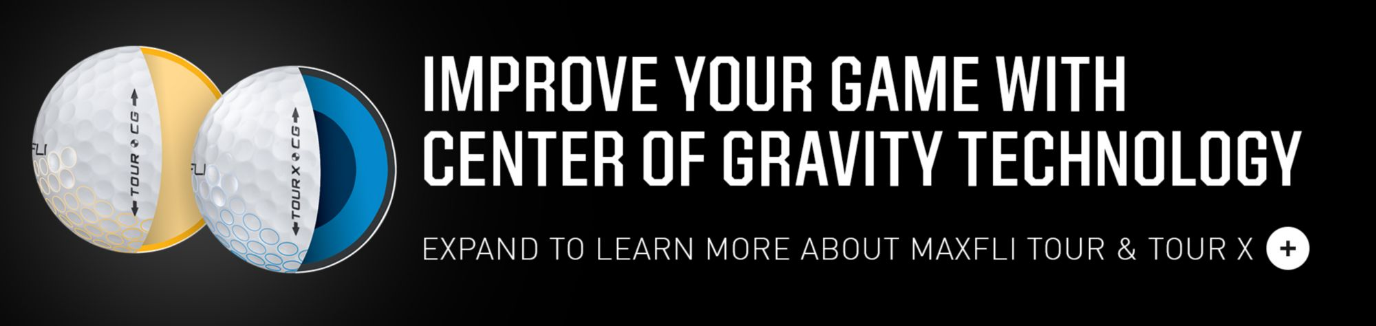 Improve your game with center of gravity technology