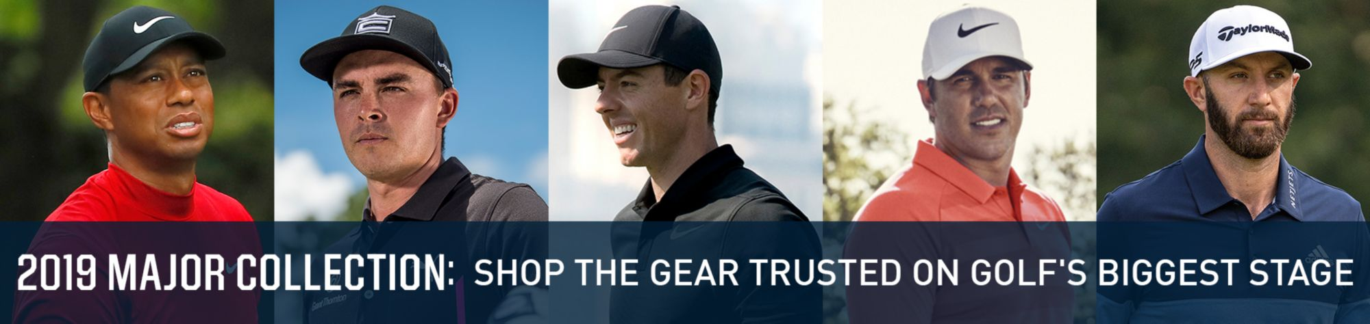 2109 Major Collection: The Gear Trusted on Golf's Biggest Stage