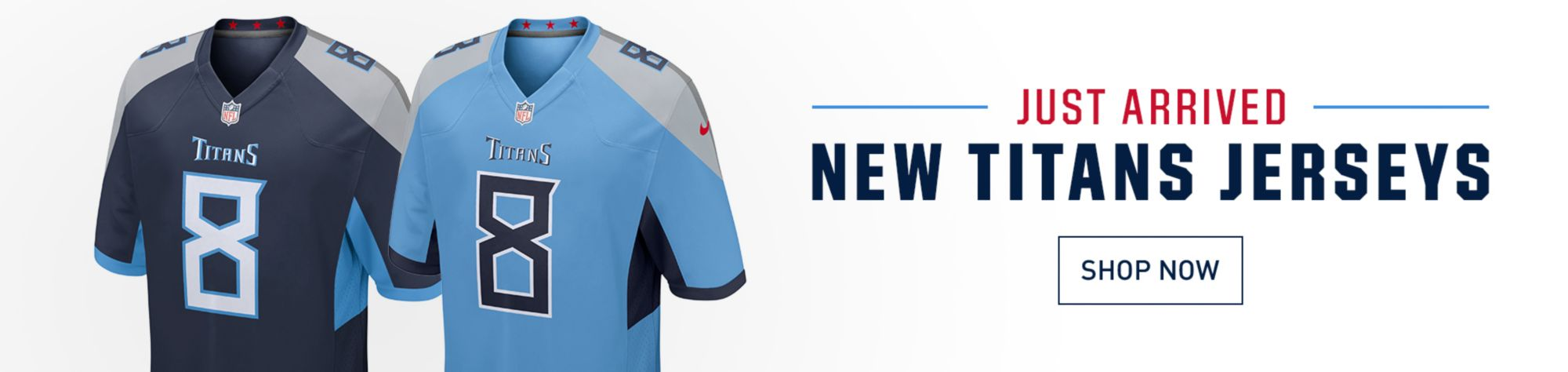 Just Arrived - New Titans Jerseys - Shop Now