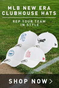 MLB New Era Clubhouse Hats