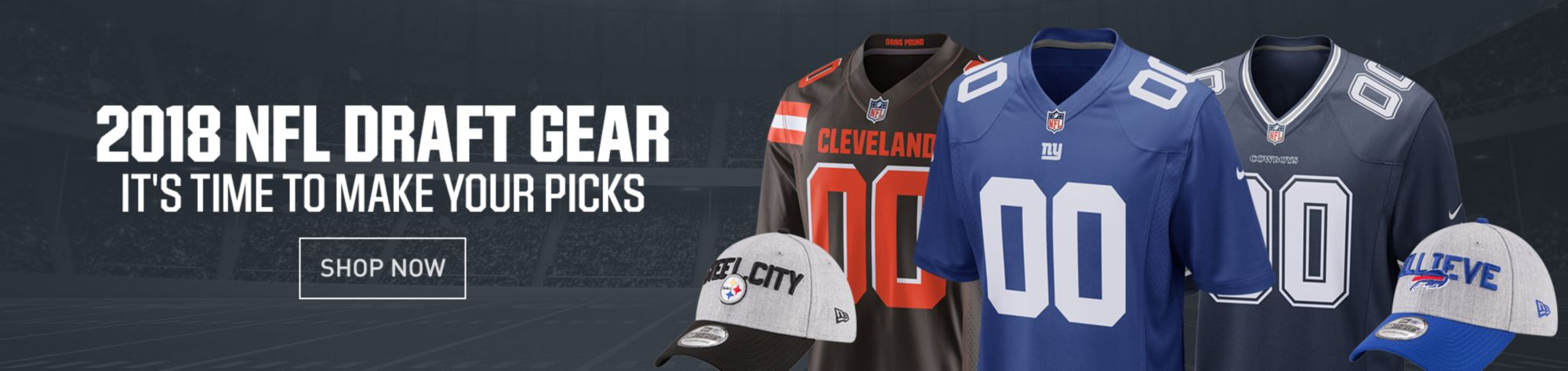 2018 NFL Draft Gear