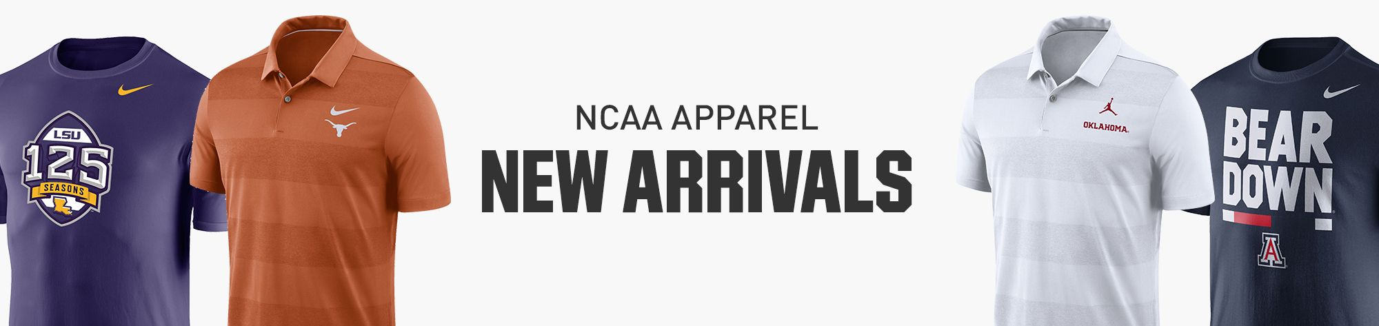 New NCAA Apparel - Shop Now