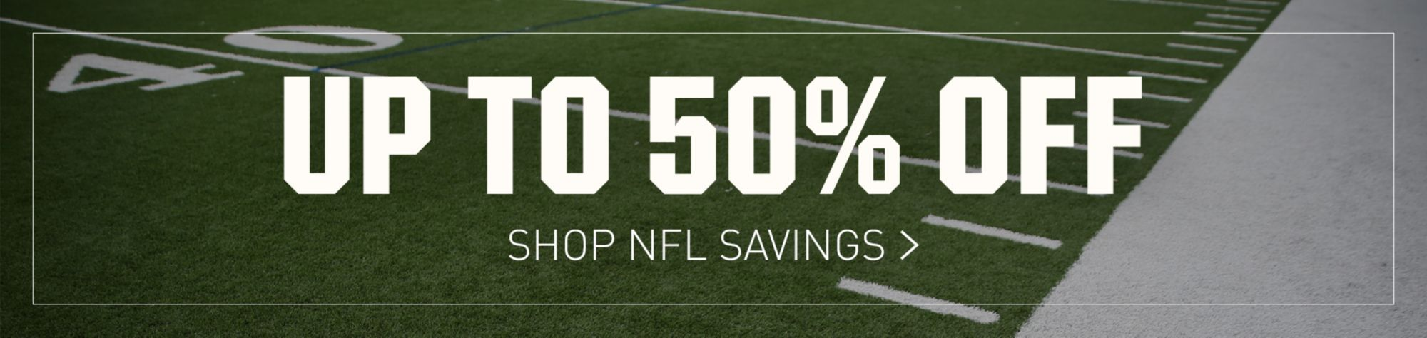Shop NFL Savings - Up to 50% Off