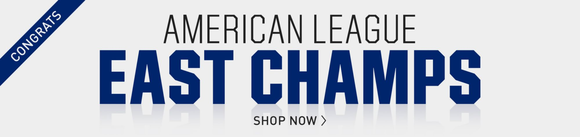 Congrats American League East Champs Shop Now