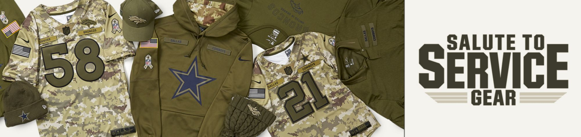 NFL Salute to Service Gear
