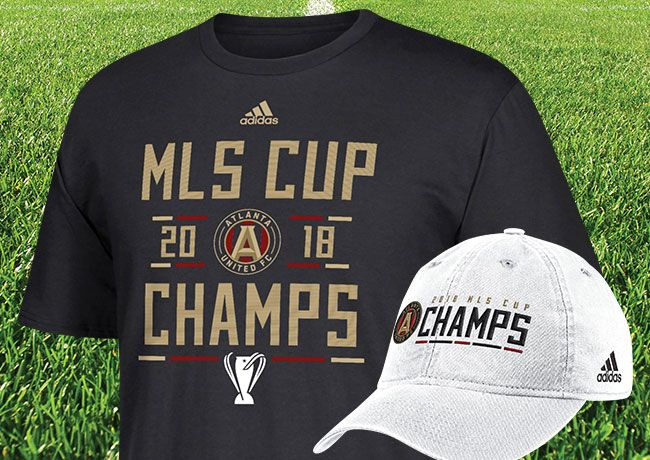Congrats Atlanta United - Shop MLS Cup Champions Gear