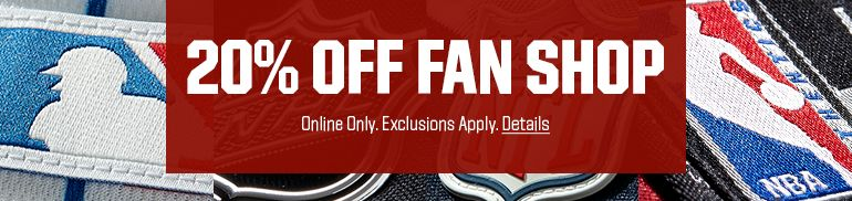 20% Off Fan Shop