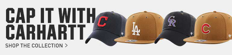 CAP IT WITH CARHART SHOP THE COLLECTION