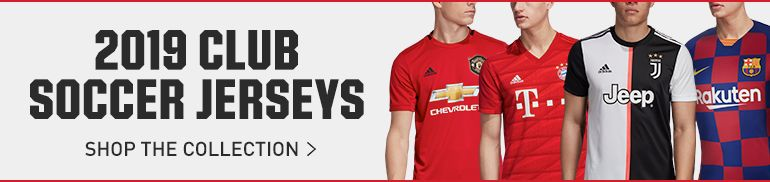 2019 Club Soccer Jerseys - Shop The Collection