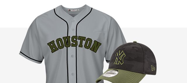 New MLB Gear - Memorial Day Styles
