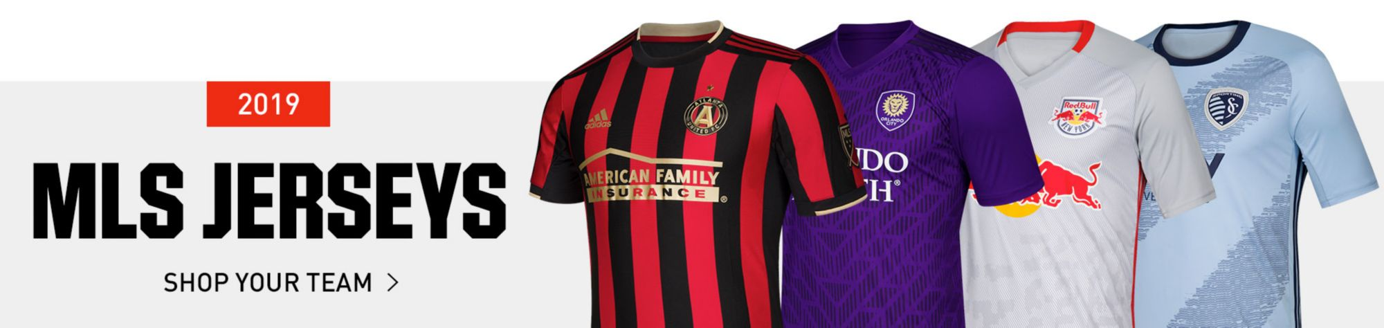 MLS Jerseys - Shop Your Team