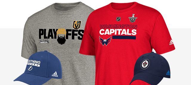 NHL Playoffs - Shop 2018 Gear