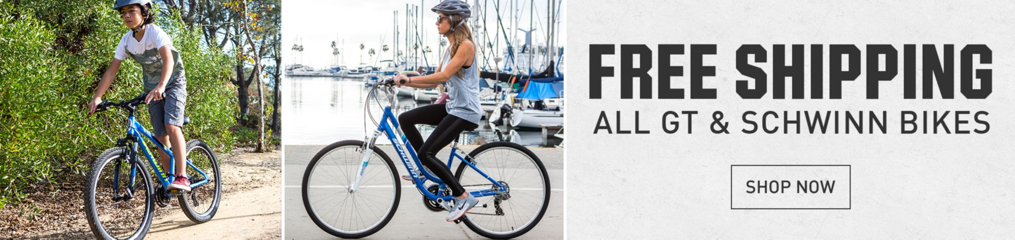 Free Shipping on Bikes from GT, Schwinn & More Brands