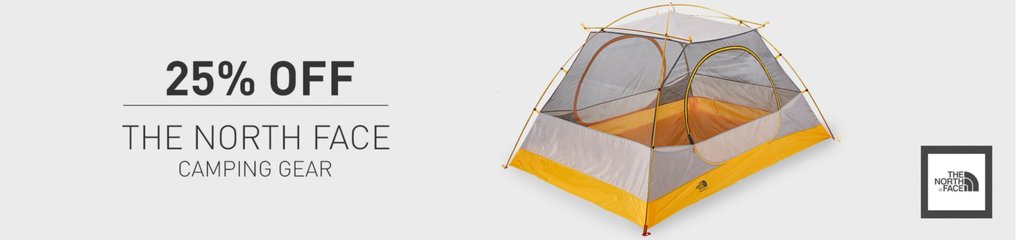 25 Off The North Face Camping Gear