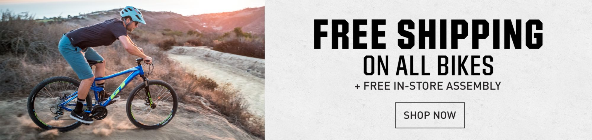 Free Shipping on All Bikes + Free In-store assembly - Shop Now