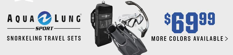 Aqua Lung Sport Snorkeling Travel Sets