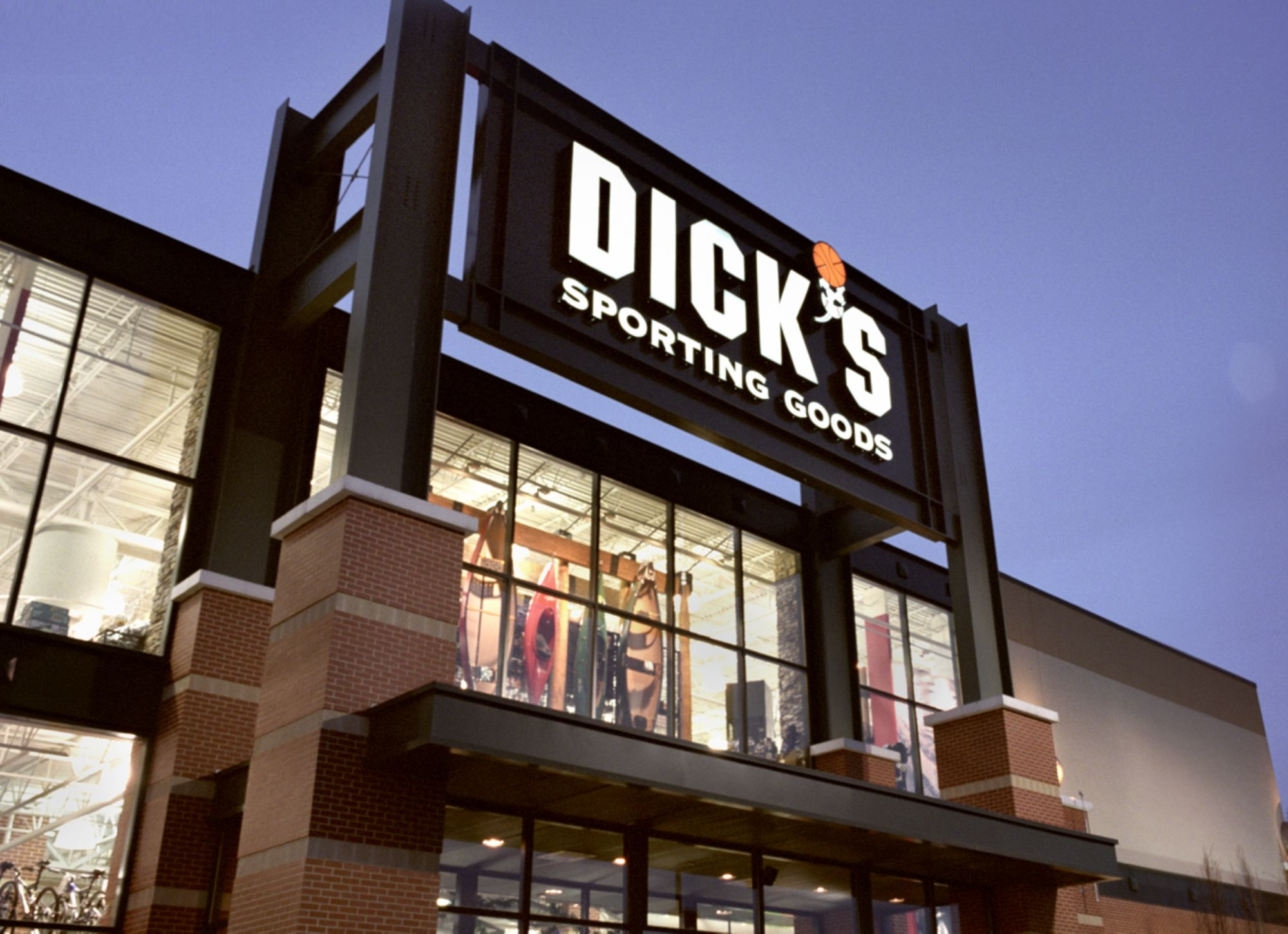Picture of a Dick's Store