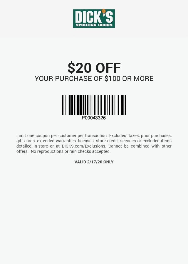 Promotional Coupon